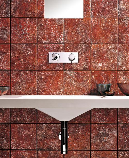 Utilizzo delle piastrelle in ceramiche per l'ambiente bagno - Geos