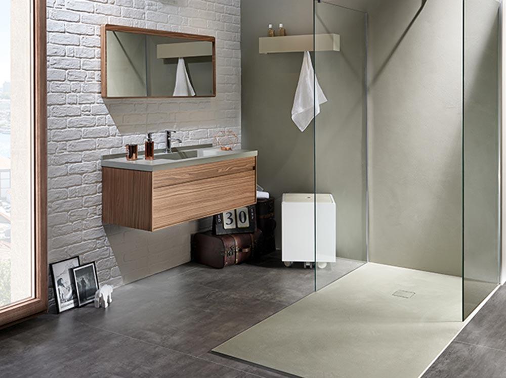 Ambiente bagno moderno e funzionale